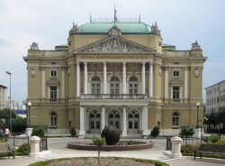 Das Nationaltheater in Rijeka